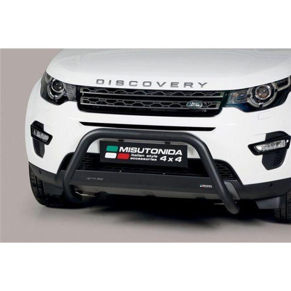 Misutonida Bull Bar Ø63mm inox crni za Land Rover Discovery Sport 5 2018 s EU certifikatom