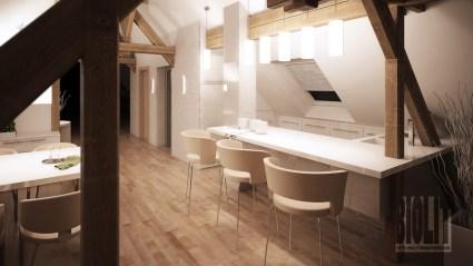 Penthouse apartment, Ostrava / / Client: atelier KOHLarchitekti