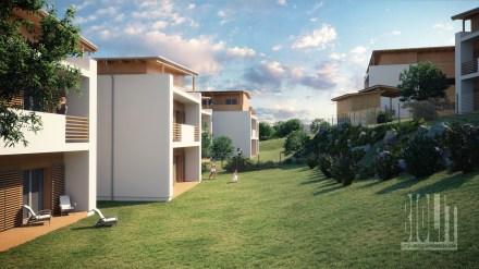 "Apartment houses ""Kamionka"", Trinec / / Client: atelier KOHLarchiteti"