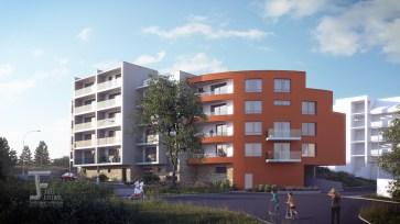 Apartment house, Praha - Zlichov / / Client: CTR group, s.r.o. - Nové byty Praha 3 – Panorama Pražačka