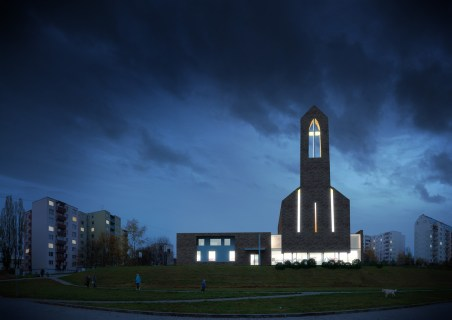 Church competition, Brno / / Client: Atelier BMCH