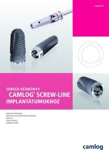 CAMLOG implantációs rendszer sebészi kéziköny