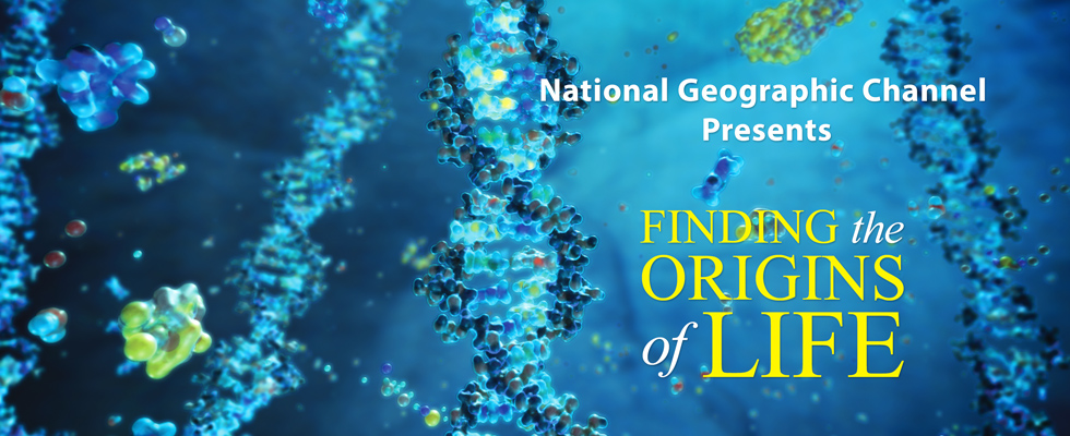 Finding the Origins of Life Banner Ad