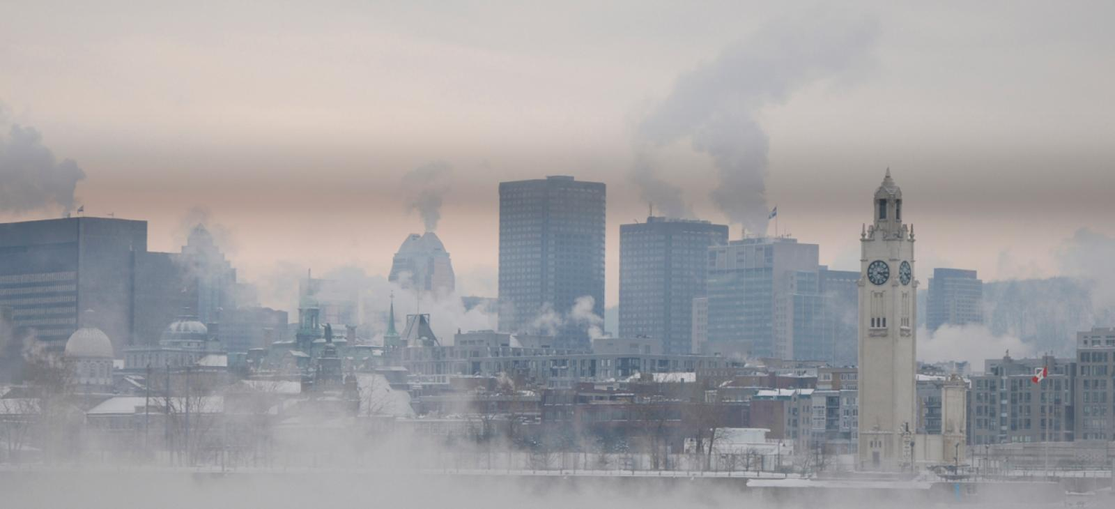 Загађеност ваздуха у Србији