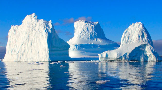 Icebergs e Aquecimento Global