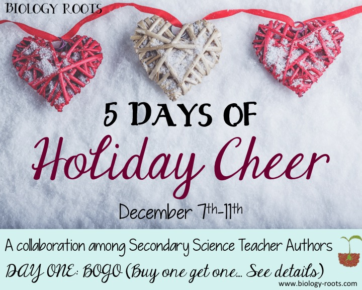 Day One of Holiday Cheer: BOGO