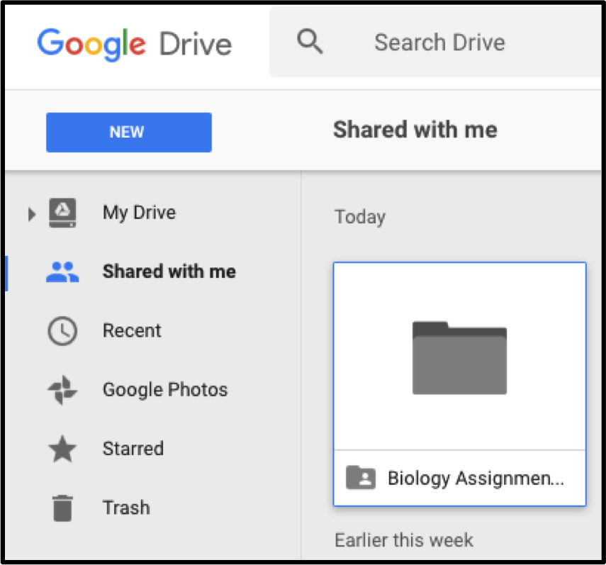 students-google-drive-shared