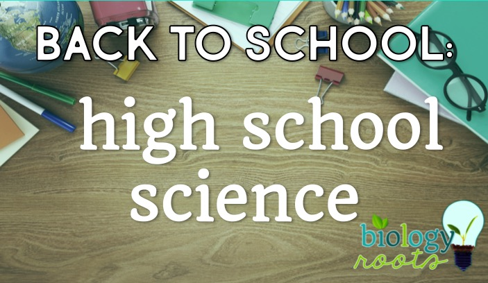 First Week of High School Science: What I Taught and Why