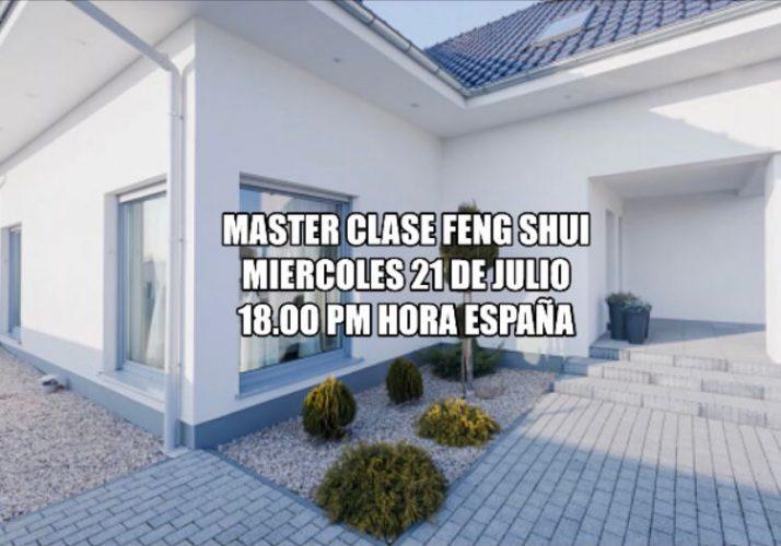 Masterclass feng shui 21 Julio