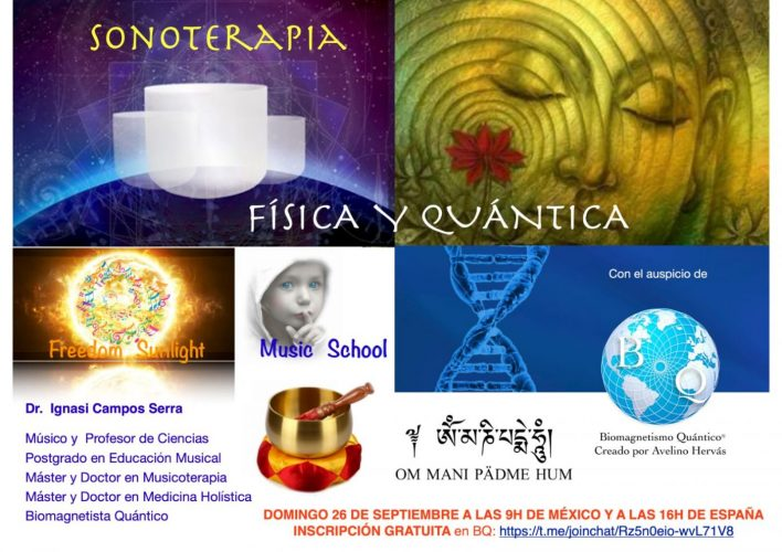 MasterClass Sonoterapia