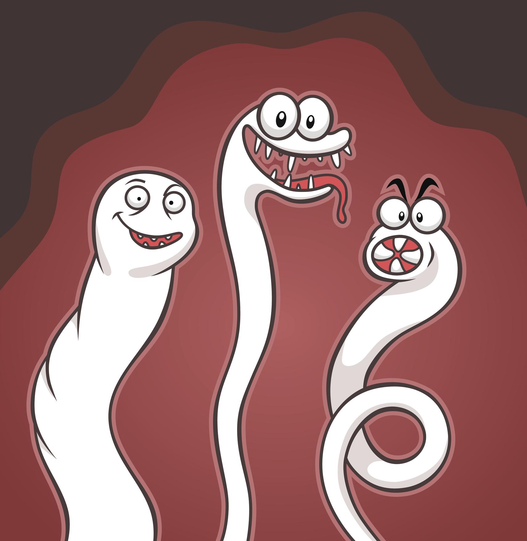 Смешные картинки гельминтов