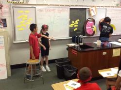 Students play games to practice kidney anatomy