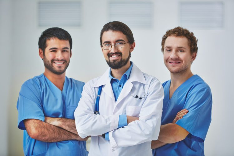 Doctors working together to optimize patient outcomes