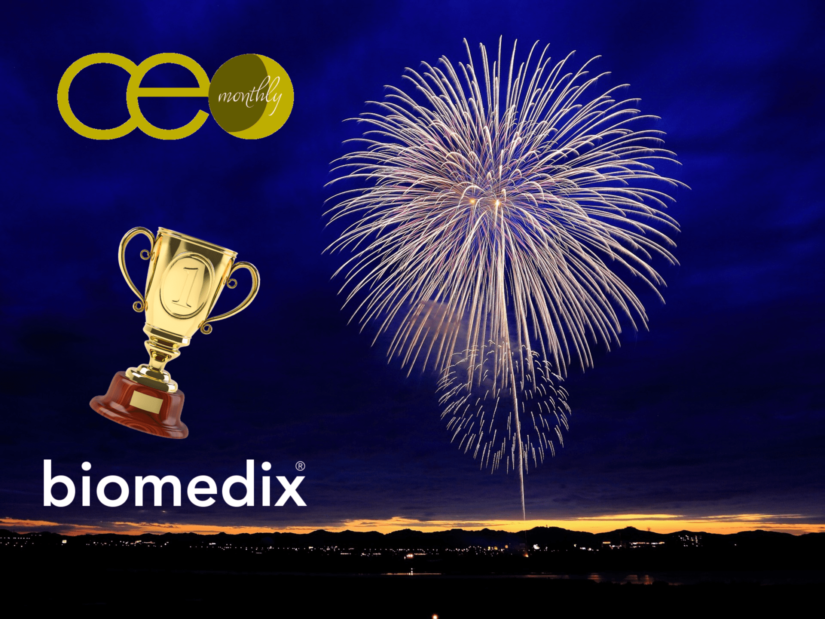 Biomedix wins 2x CEO Monthly Awards