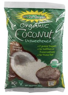 Let's Do Organic Shredded Coconut Flakes