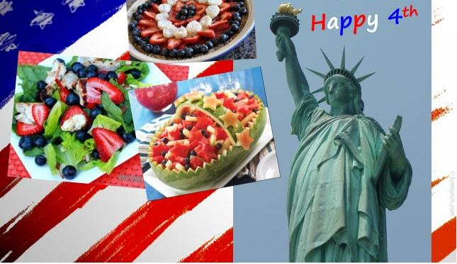 4th of July Fruit Roundup & Burger Thoughts