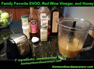 Family Favorite EVOO, Red Wine Vinegar, and Honey