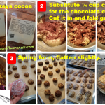 Pictorial Image for steps to How to sub cocoa sub for chocolate chips