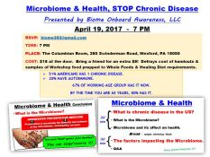 Microbiome and Health_Flyer 2. top