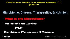 CME Microbiome, Disease, Therapeutics, Nutrition_Agenda