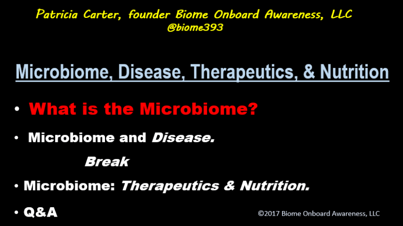 CME Microbiome, Disease, Therapeutics, Nutrition_Agenda
