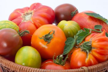 βιολογικές ντομάτες