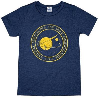 NASA T-Shirt - Vintage Navy
