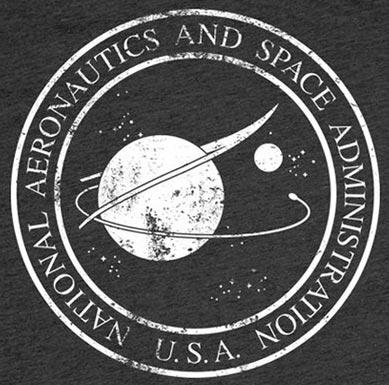 NASA T-Shirt - Heather Charcoal