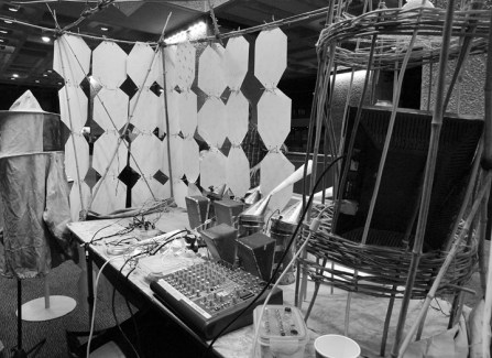 2013 – Hive Synthesis Installation/Live Electronics, #HackTheBarbican, London