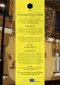 Human Beeing, Connecting Cities, Fact Liverpool 2014
