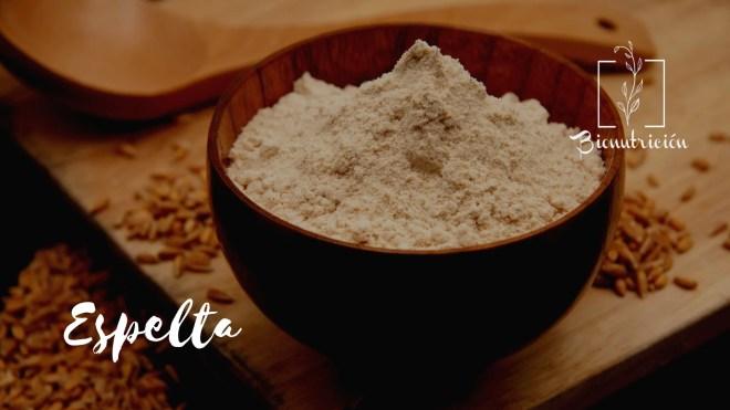 Harinas saludables: alternativas a la harina de trigo común. Espelta-Bionutrición Ortomolecular