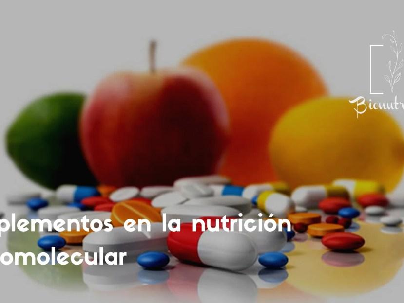 Suplementos en la nutrición ortomolecular-Bionutrición Ortomolecular