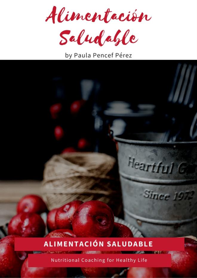 Alimentación Saludable- Curso en pdf