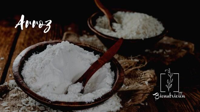 Harinas saludables: alternativas a la harina de trigo común. Arroz- Bionutrición Ortomolecular