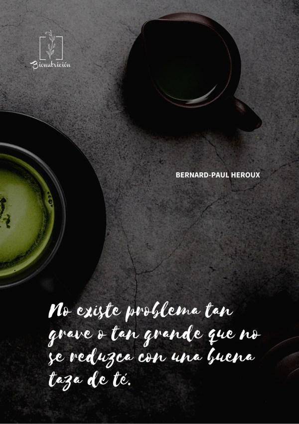 El té verde - Bionutrición Ortomolecular