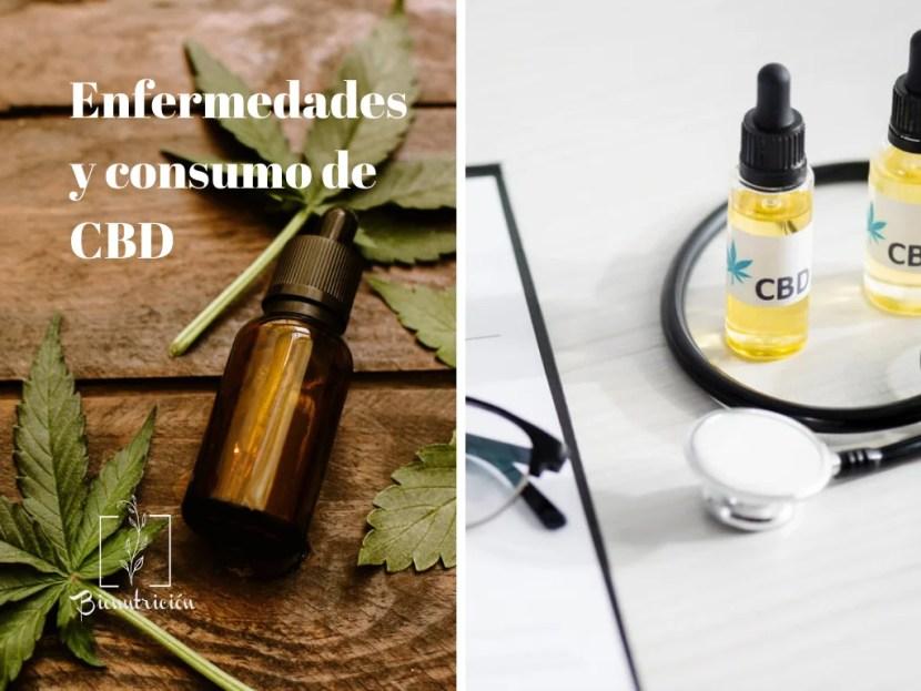 Enfermedades y consumo de CBD