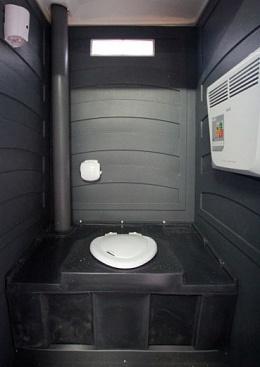 Туалетная кабина Эколайт зимний