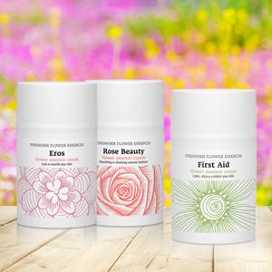 Crèmes aux essences de fleurs de Findhorn