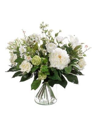 Bouquet de flores artificiales
