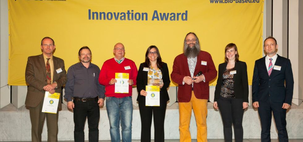 Winner Bio-based Material of the Year 2015