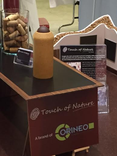 Orineo Touch of Nature Biobased material of year 2016