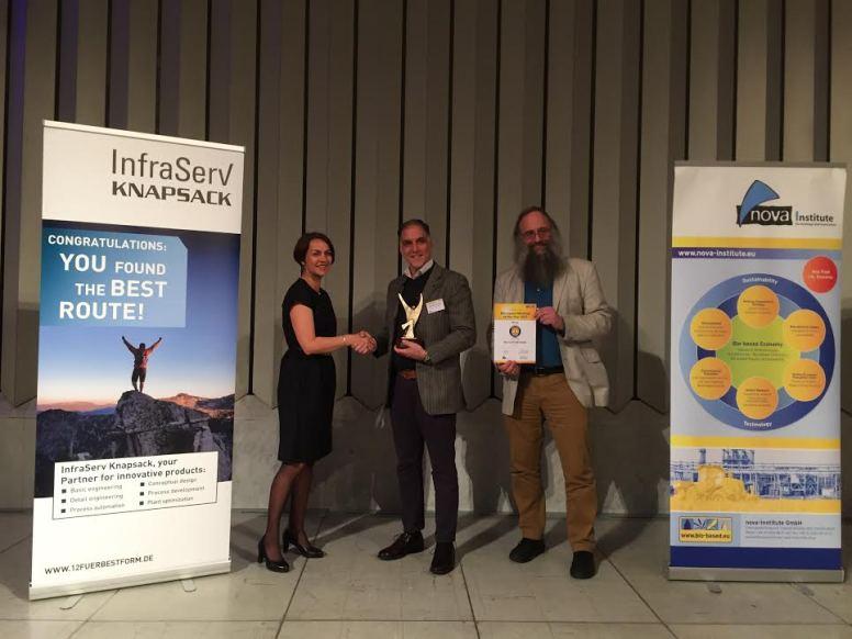 bioplastics biobased material winner award 2017