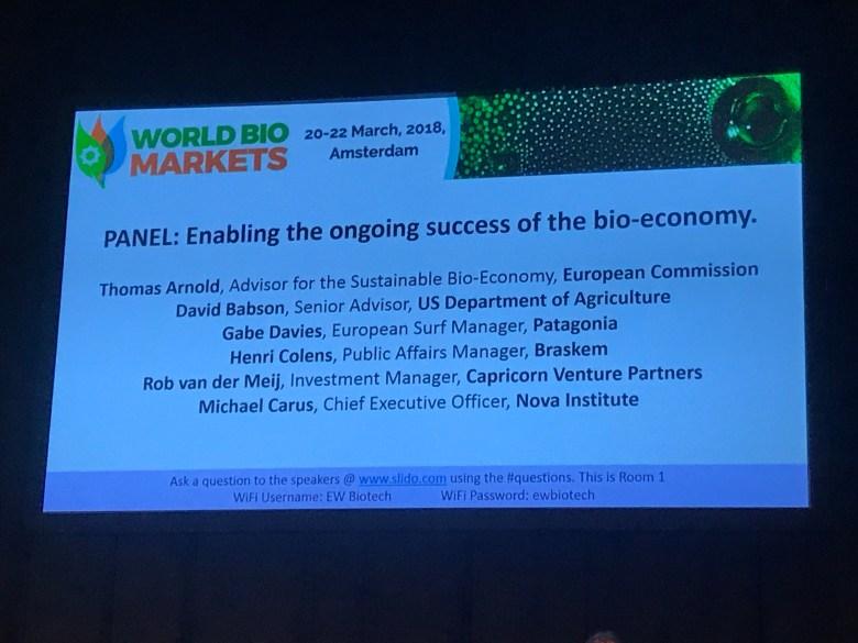 Role of bio-economy