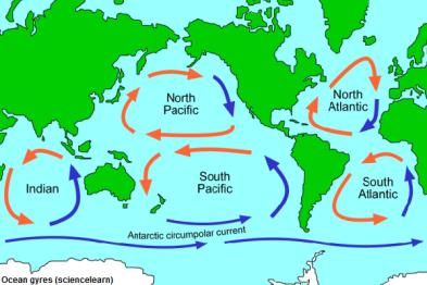 plastic continents