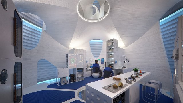 bioplastics house on mars