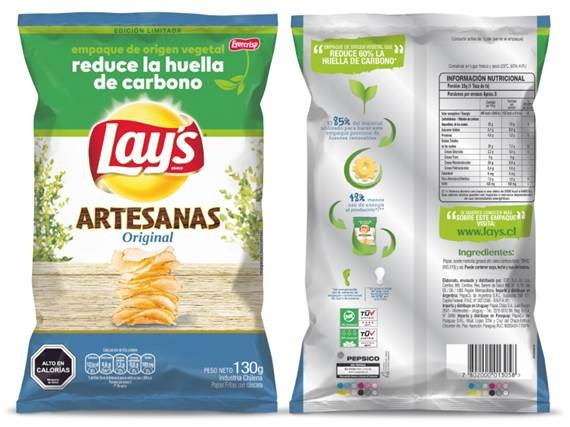 pepsico bioplastics snack bags
