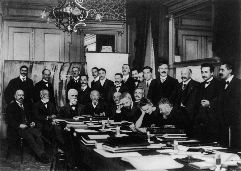 First Solvay Congress in 2011