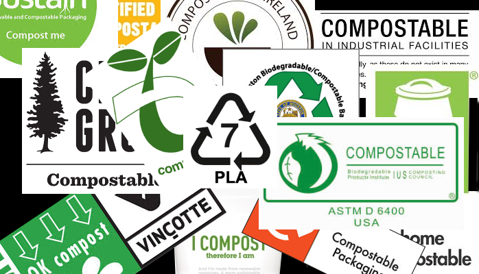 what is the difference bwteen compostable and biodegradable