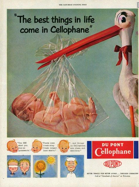 Cellophane Advertising