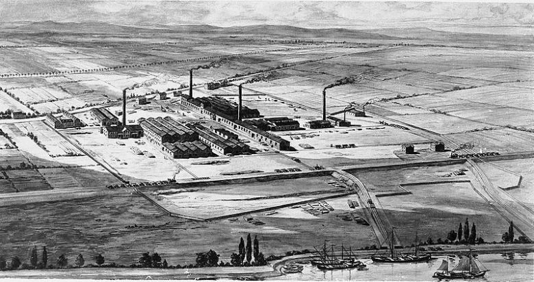 BASF Factory in 1865